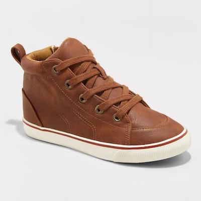 Boys' Florian Mid Top Sneakers - Cat & Jack™ Tan