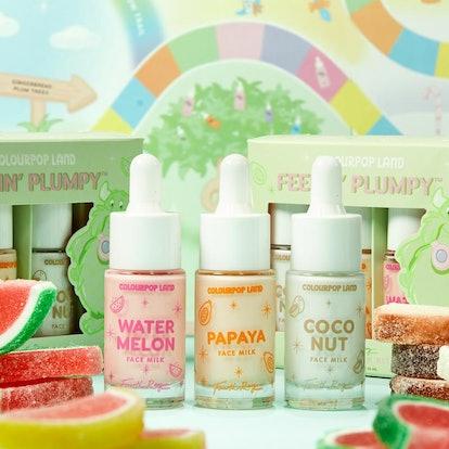 ColourPop x Candy Land Feelin' Plumpy Face Milk Mini Kit