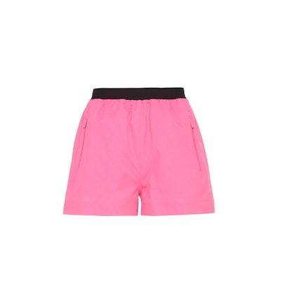 Bi-Stretch Fabric Shorts