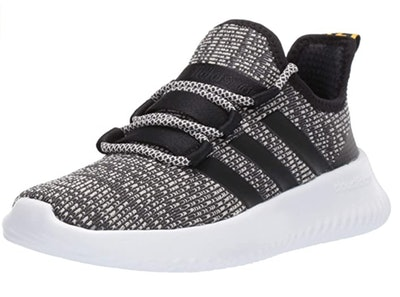 Adidas Kids' Ultimafuture Running Shoe in Grey/Black/Raw White