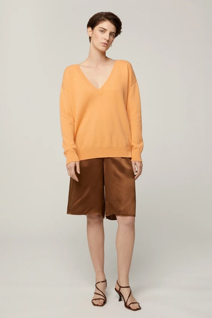 Reversible V, Orange Sherbet