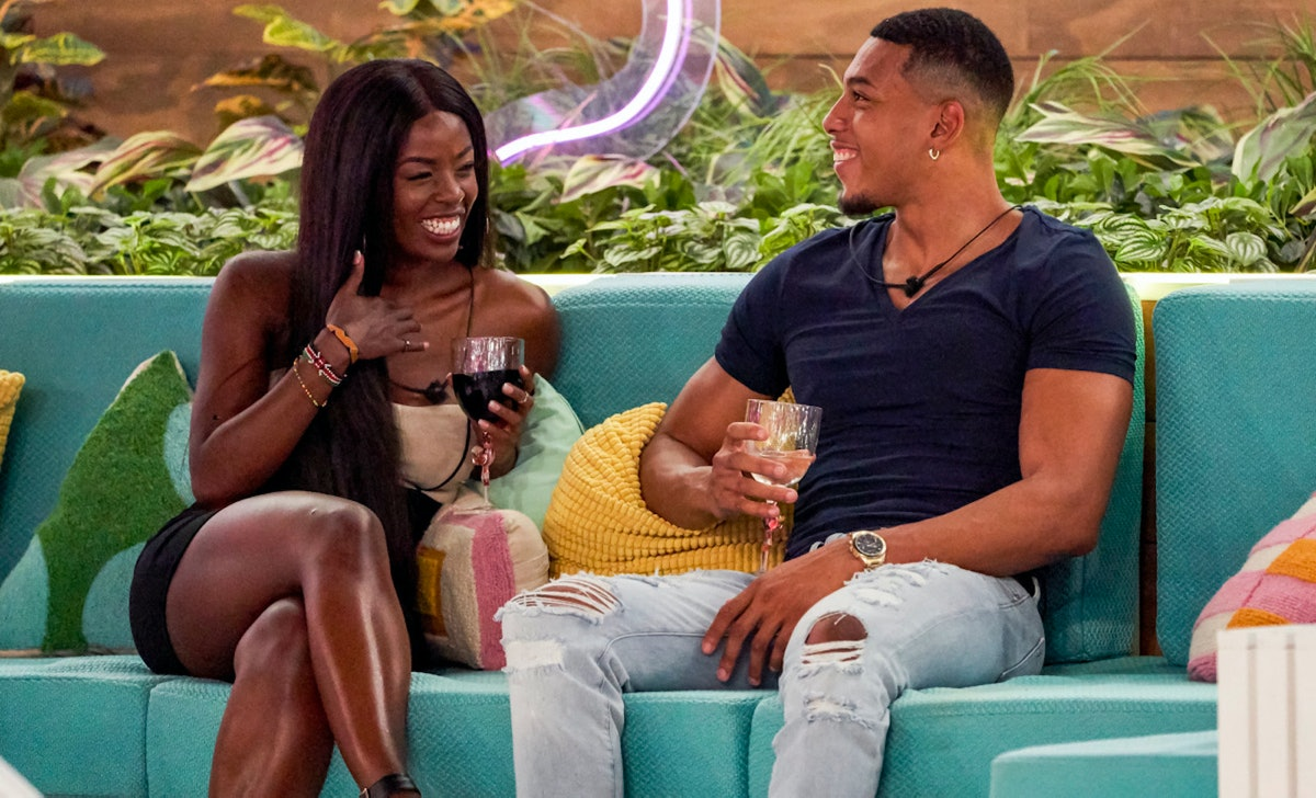 Justine and Jeremiah didn't spark a match in the 'Love Island' Season 2 premiere.