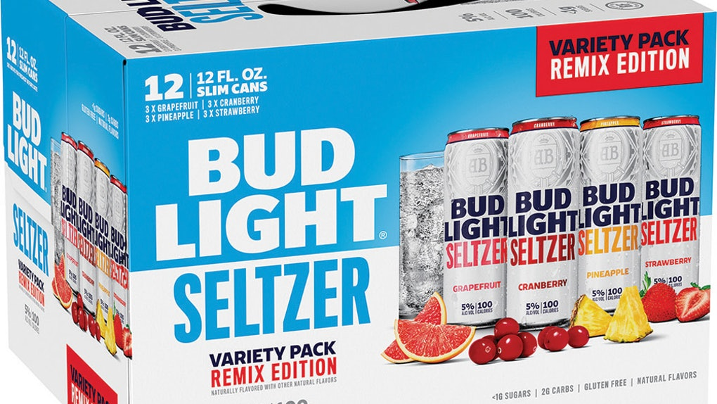 These new Bud Light Seltzer flavors in the Remix Pack include tasty fruit sips like Pineapple and Cranberry.