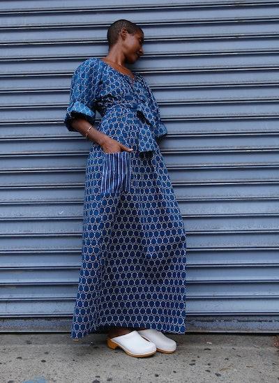 The Elma Dress, Oh Indigo