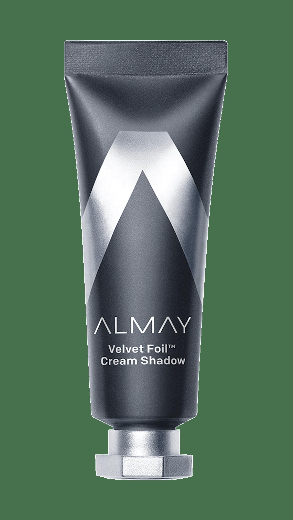 Velvet Foil Cream Shadow in Black Lightning