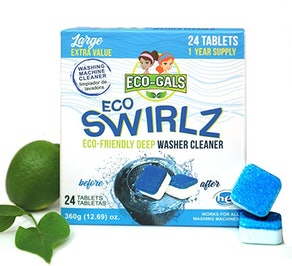 Eco-Gals Eco Swirlz Washing Machine Cleaner (24-Pack)