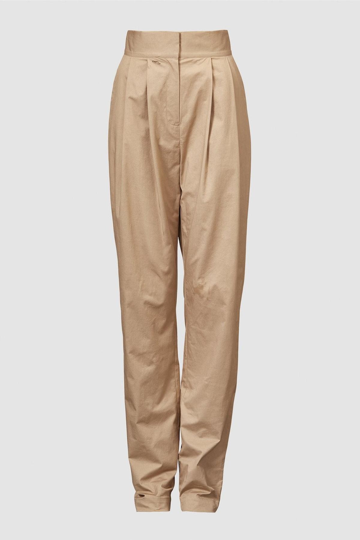 Lourdes Organic Cotton Trousers