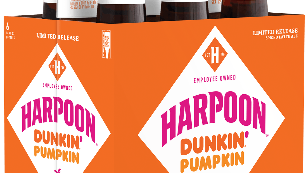 Dunkin's Fall 2020 Harpoon Brewery collaboration includes three new offerings.