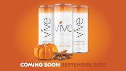 VIVE's new pumpkin spice hard seltzer is coming in September 2020