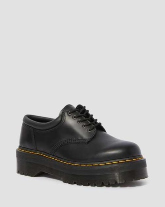 8053 Leather Platform Casual Shoes