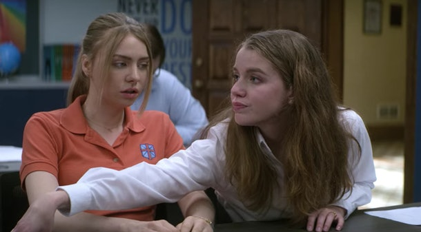 April and Sterling In 'Teenage Bounty Hunters'