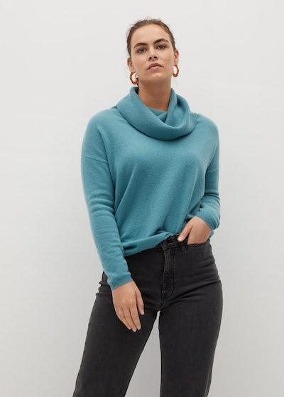Turtleneck 100% Cashmere Sweater