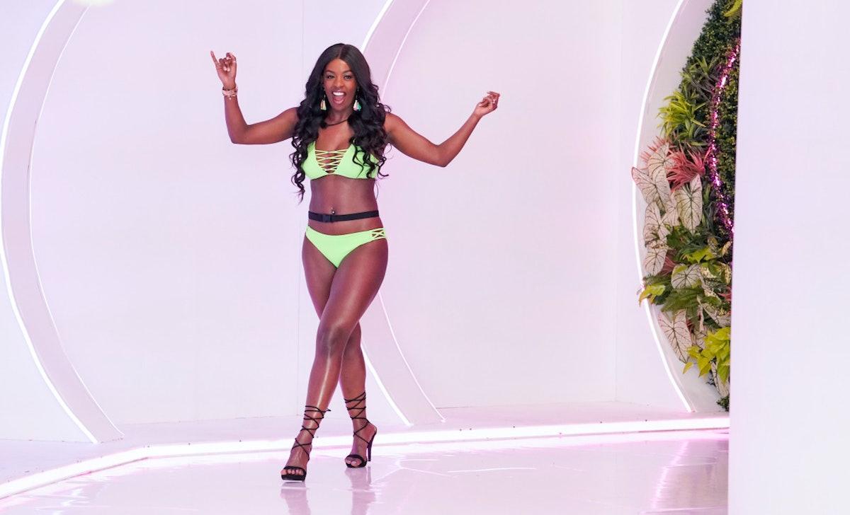 Justine Ndbida was an instant fan favorite on the 'Love Island' Season 2 premiere.