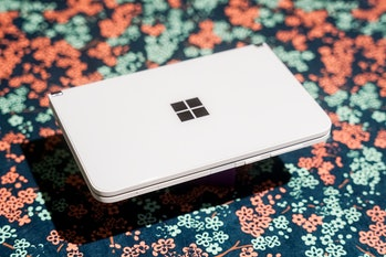 The Surface Duo's buttons are all tactile.