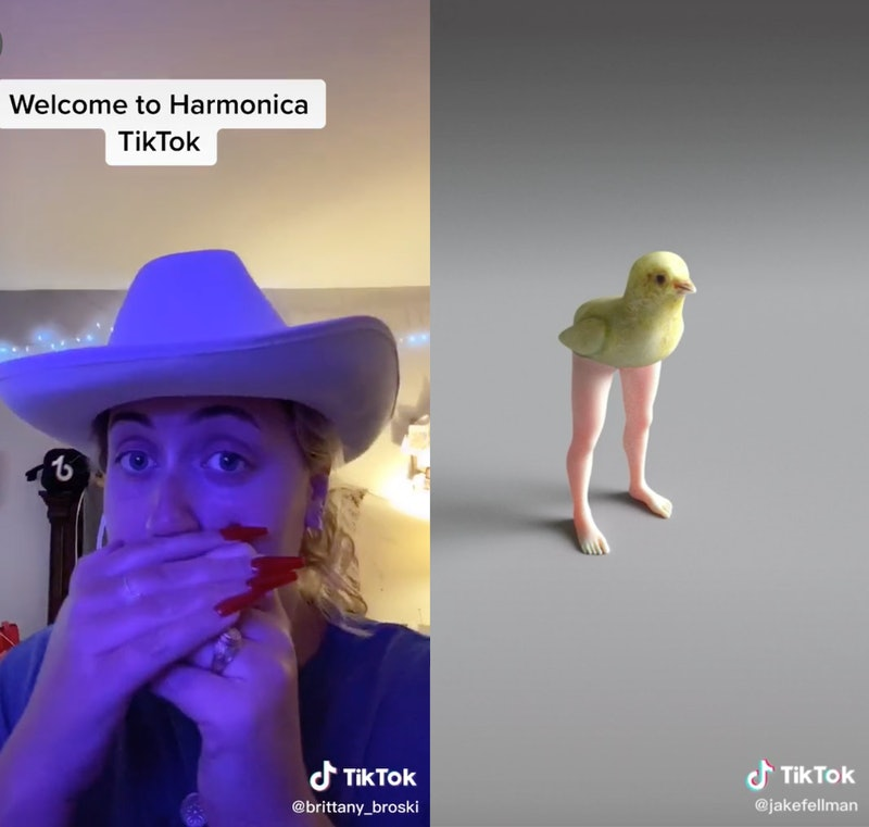 How to find the alternative side of TikTok.