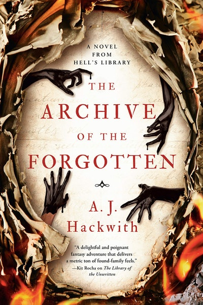'The Archive of the Forgotten' by A.J. Hackwith