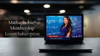 Olympia LePoint's Mathaphobia Membership lesson subscription.