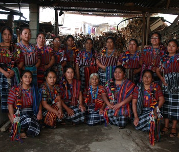 The mothers group of Guatemala through anti-poverty organization Unbound.