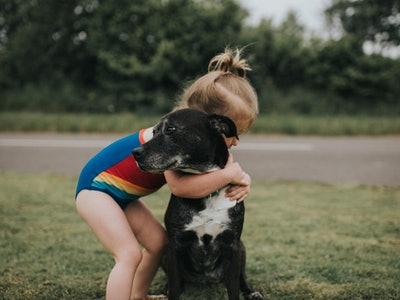 Cute pictures of kids and dogs are an absolute necessity right now.