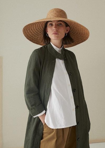 Clara Wide Brim Straw Hat