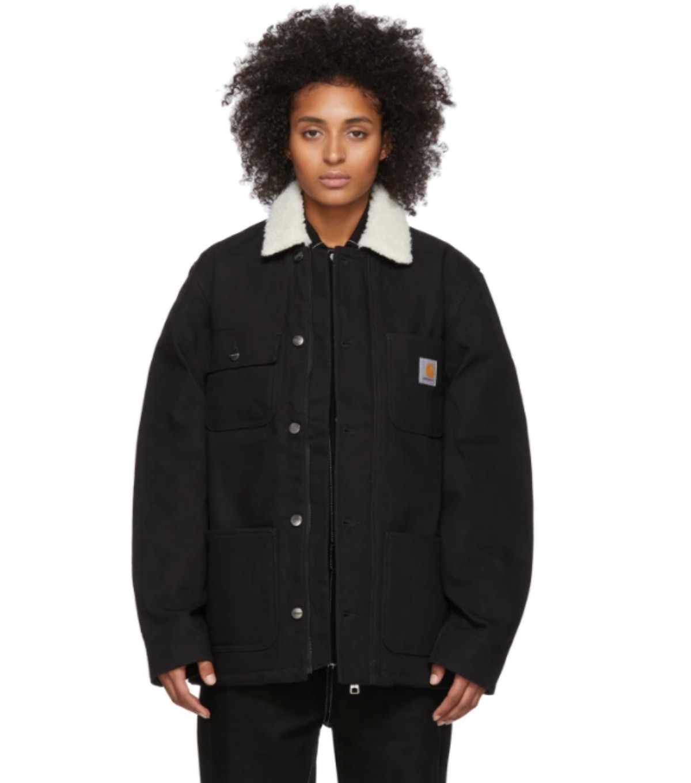 Black Fairmount Coat