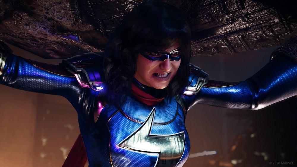 marvel's avengers ms marvel