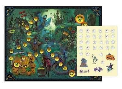 Kids' Halloween Sticker Calendar