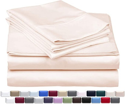 Thread Spread True Luxury 1000 Thread-Count 100% Egyptian Cotton Bed Sheets