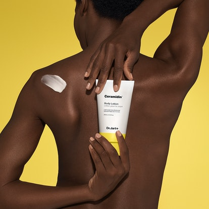 Dr. Jart+'s Ceramidin Body Lotion aims to provide hydration without a thick texture and leaving skin...