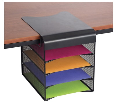 Safco Products Underdesk Hanging Organizer