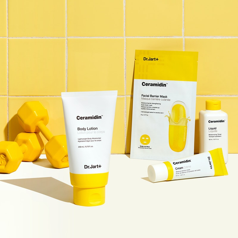 Dr. Jart+'s new body lotion is full of five types of ceramides.