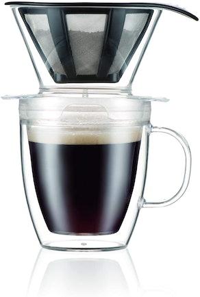 Bodum Pour Over Coffee Dripper Set (12 Ounces)