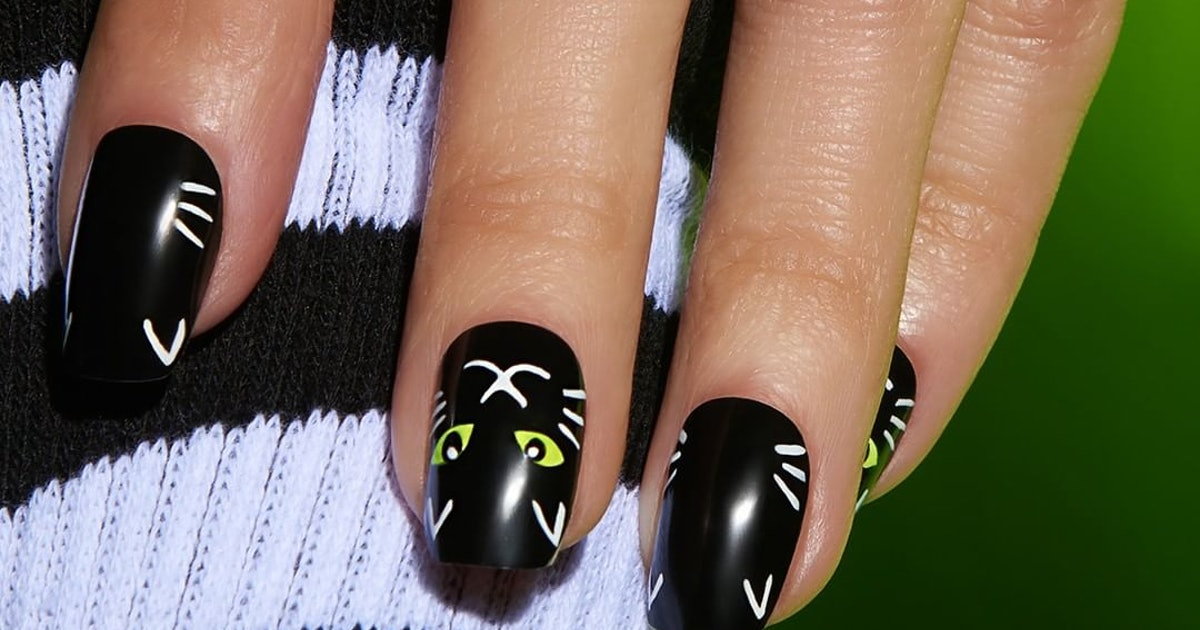 9 Press-On Nails For Halloween That Are Quick, Easy ...