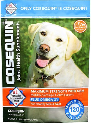 Cosequin Joint Health Supplement (120 Soft Chews)