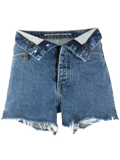 Bite Flip denim shorts