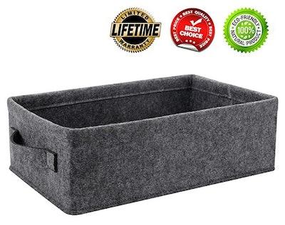 KWLET Small Basket Shallow Storage Baskets