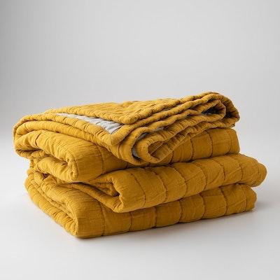 Channeled Cotton Quilt