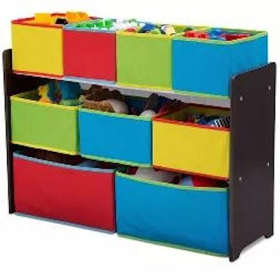 9 Bin Deluxe Toy Organizer - Delta Children