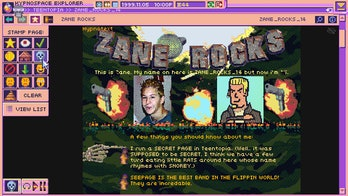 A screenshot of Hypnospace Outlaw.