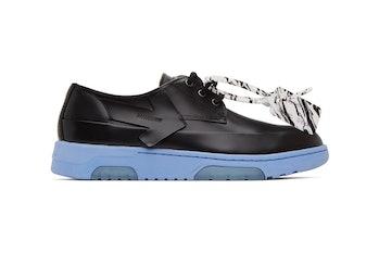 Off-White Black & White Half Half Sneakers