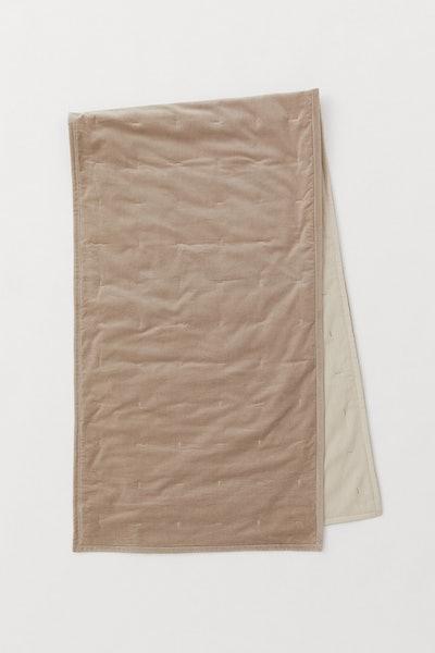 Cotton Velvet Bed Runner