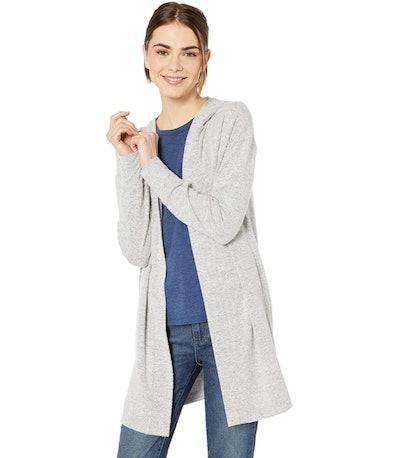 Daily Ritual Women's Cozy Knit Hooded Cardigan