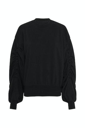 Elastic Detail Sweatshirt