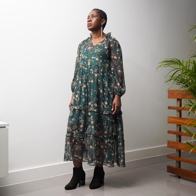 Yemisi Drawstring Dress