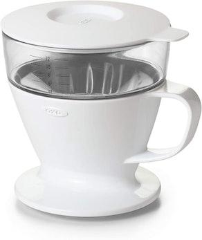 OXO Brew Single Serve Auto-Drip Pour-Over Coffee Maker (12 Ounces)