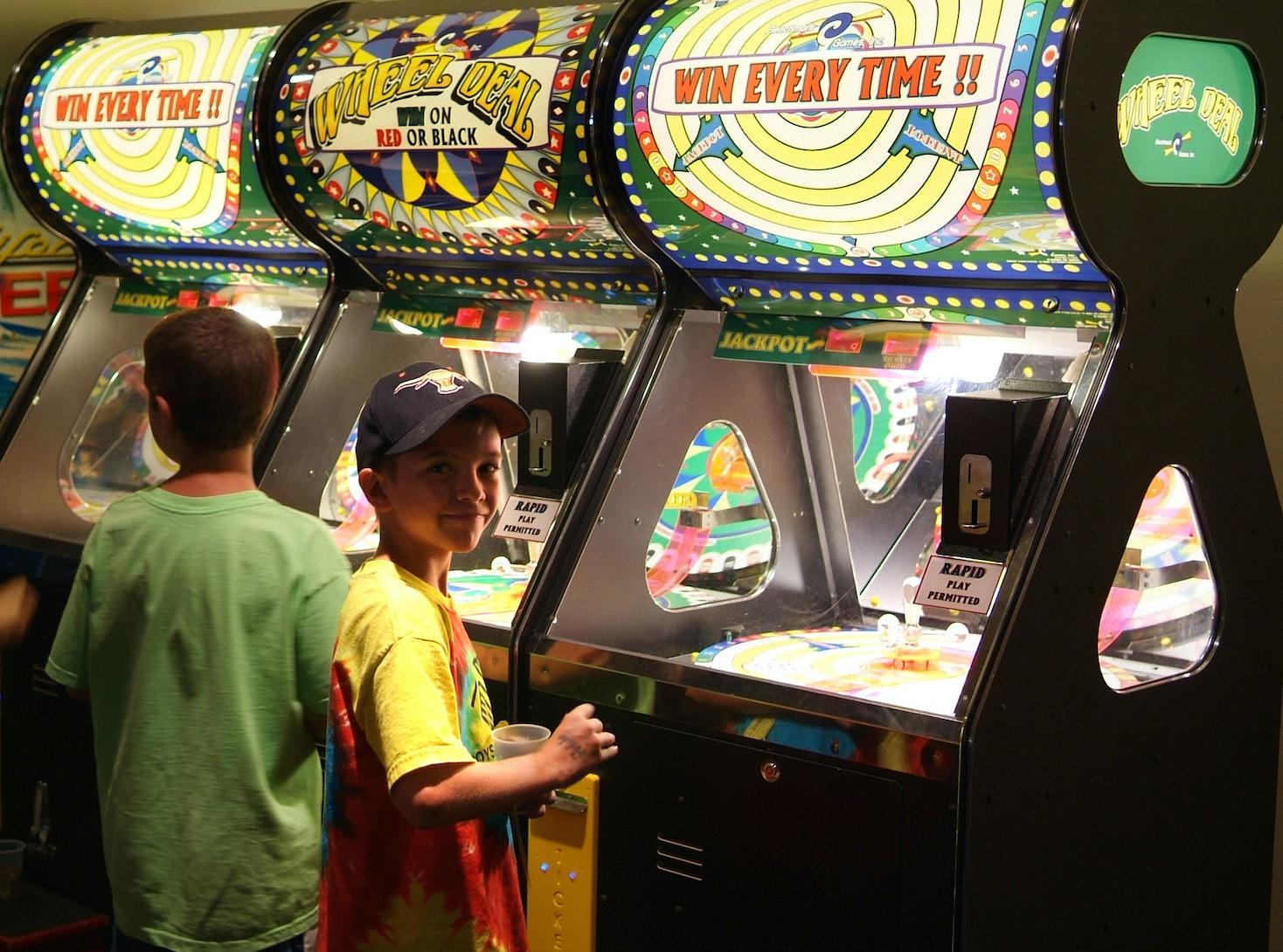 Funspot's arcades.