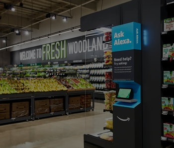 Amazon has opened the first of its Amazon Fresh-branded grocery stores.