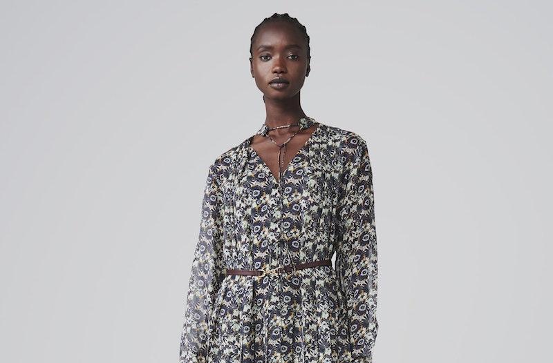 Victoria Beckham Floral Maxi Dress AW20