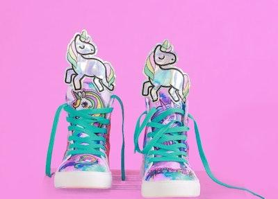 Kid's Hightop Unicorn Sneakers