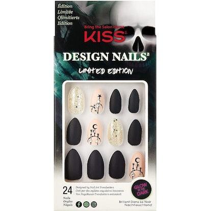 Escape Room Glam Design Halloween Nails